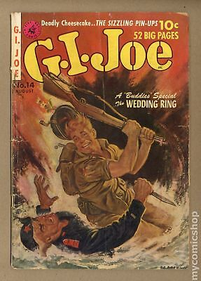 GI Joe (Ziff Davis) #14 1952 GD- 1.8
