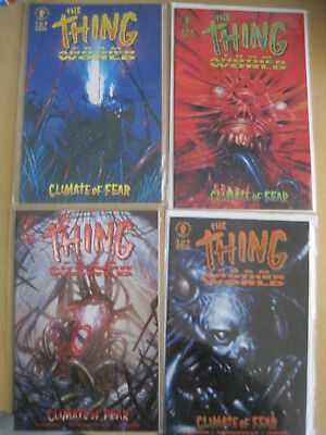 THING FROM ANOTHER WORLD : CLIMATE of FEAR. COMPLETE 4 ISSUE 1992 DARK HO SERIES