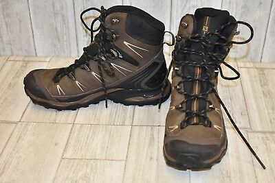 Salomon Quest 4D II GTX Hiking Boots - Men's Size 7 Brown/Black
