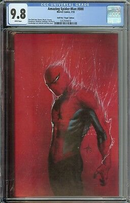 Amazing Spider-Man #800 Cgc 9.8 1:200 Gabriele Dell'otto Virgin Edition