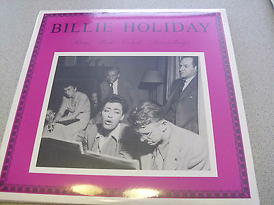Billie Holiday - Rare West Coast Recordings - LP Vinyl /// Neu & OVP
