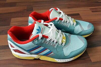 adidas ZX Flux Poppy Red | Rote turnschuhe, Sneakers mode