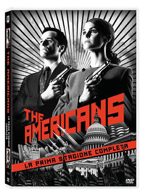 Dvd Americans (The) - Stagione 01 (4 Dvd)