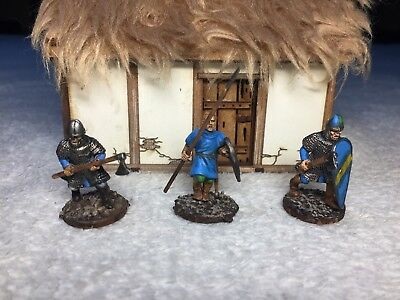 ***Conquest Games: 28mm (1:56) Normannen bemalt***