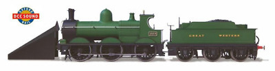 Oxford Rail OR76DG005XS GWR Dean Goods 2534 with Snow Plough DCC Sound Fitted OO