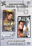 Tagged Classics WWE WWF - The Rock: The Peoples Champ & Just Bring It...X 2 Dvd