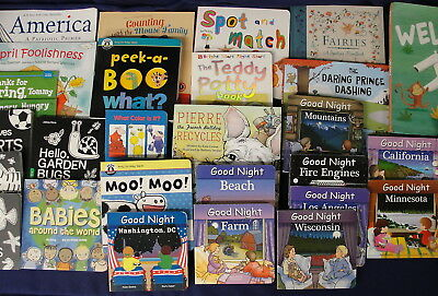Lot of 31 Assorted Young Childrens Hardcover & Softcover Reading Books