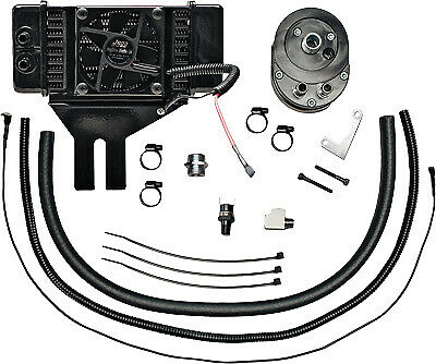 Horizontal Low-Mount 10 Row Fan-Assisted Oil Cooler Kit 751-FP2500