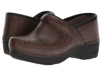 Dansko Women's Pro XP 2.0 Brown Floral Sz 39 / Us 9M NEW