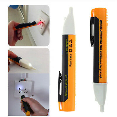 AC 90~1000V Non-Contact LED Electric Alert Voltage Detector Sensor Tester Pen$_$