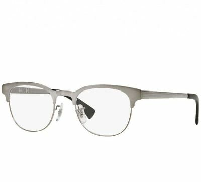 a0f8d2163f RAY-BAN RB 6317 2553 Clubmaster Eyeglasses Frame Glasses Brushed ...