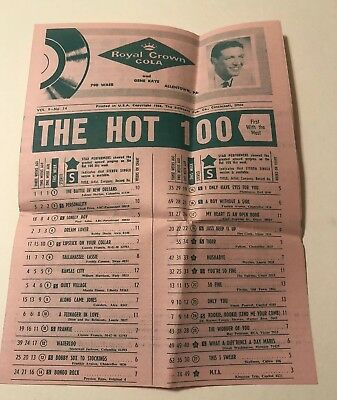 The hot 100 record survey 1958 WAEB Allentown PA