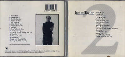 GREATEST HITS, VOL  2 by James Taylor (Vocals) (CD, Nov-2000