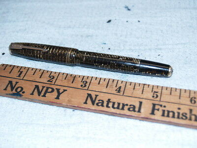 Parker brown Vacumatic major fountain pen for parts(8044)