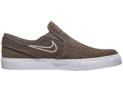 NEW Nike SB Stefan Janoski Slip On Ridgerock/Fossil White