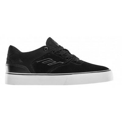 NEW Emerica Youth Reynolds Low Vulc Black/White/Gum