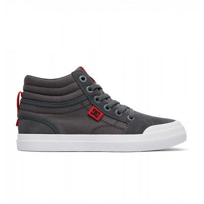 NEW DC Youth Evan Smith High Grey/White