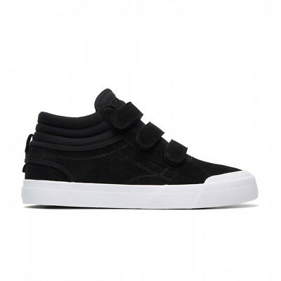 NEW DC Evan Smith High Velcro Black/White