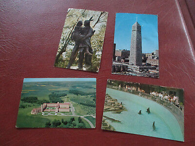 Vintage Minneapolis Postcards Downtown,hiawatha,como Park &assisi Heights