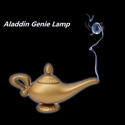 Legend Aladdin Magic Genie Light Wishing Lamp Wish Pot Halloween Christmas