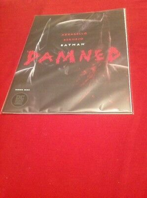 DC Comics Black Label - Batman Damned 1 - First Print SOLD OUT 2018 Near Mint!