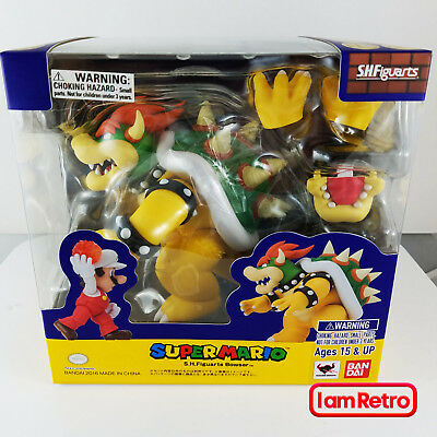 Bowser - Super Mario Bandai Tamashii Nations S.H. Figuarts USA Seller FreeShip