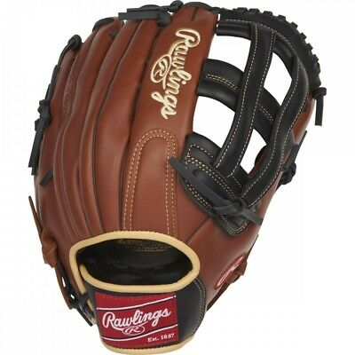 """Rawlings Sandlot Series Leather Pro H Web Glove, 12-3/4"""", Right Hand Throw"""