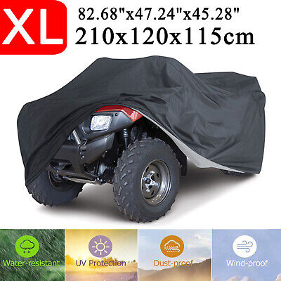 For ATV Cover Quad Bike Waterproof Vehicle Scooter Universal Dustproof Size XL