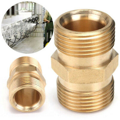 M22 Female Socket Brass Pressure Washer Quick Release Connect Fitting 14mm WE9