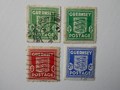 Guernsey War stamps used