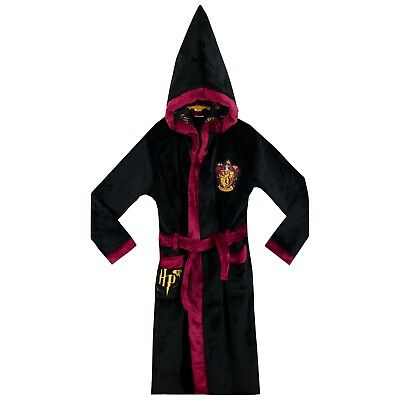 Harry Potter Dressing Gown | Boys Gryffindor Bath Robe | Wizard Dressing Gown