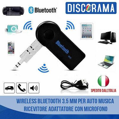 Bluetooth 3.5 Mm X Auto Wireless Stereo Audio Musica Ricevitore Adattatore Wifi