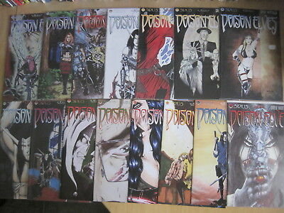 POISON ELVES : BUNDLE of 15  issues from CLASSIC SIRIUS 1995 SERIES.See DESCRPTN