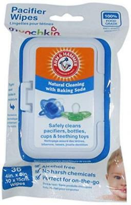 Munchkin 45052 Arm and Hammer Pacifier Wipes, 36-Pack (White)
