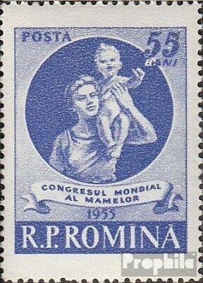 Romania 1524 (complete issue) unmounted mint / never hinged 1955 world congress