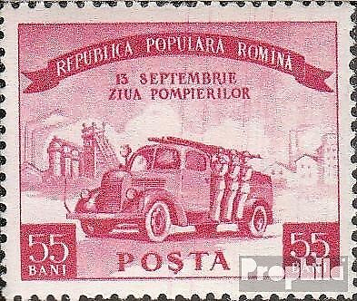 Romania 1536 (complete issue) unmounted mint / never hinged 1955 Day of Feuerweh