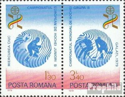 Romania 3579-3580 Couple (complete issue) unmounted mint / never hinged 1979 Hoc