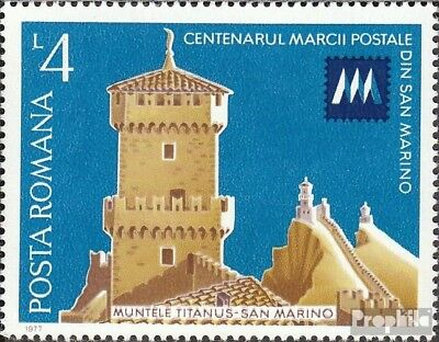 Romania 3441 (complete issue) unmounted mint / never hinged 1977 Stamps of San M