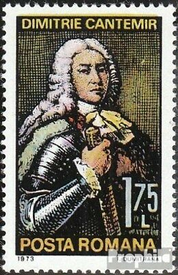 Romania 3126 (complete issue) unmounted mint / never hinged 1973 Prince Dimitrie