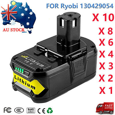 18V Lithium-Ion Battery For Ryobi ONE+ Plus P104 P108 P102 P103 P105 130429054