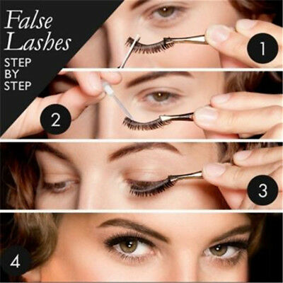 10 Pairs Natural Eye Lashes Makeup Handmade Thin Fake False Eyelashes Z
