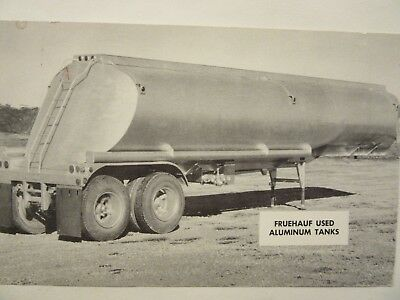 1959 FRUEHAUF USED ALUMINUM TANKERS, Fruehauf Trailer Co., North Kansas City, MO