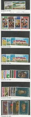 St. Lucia, Postage Stamp, #294//333 Mint NH, 1971-1973, JFZ
