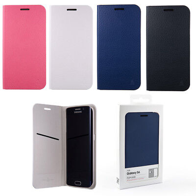 AnyMode Flip Case Cover For Samsung Galaxy S6 G920 Blue White Pink Black