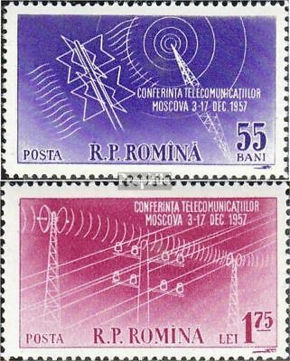 Romania 1699-1700 unmounted mint / never hinged 1958 OSS Conference