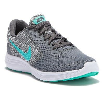 nouveau produit 4e42e 71c41 NEW WOMEN'S NIKE Revolution 3 Running Shoes!!! In Gray And Green!!!