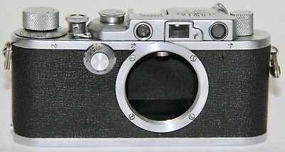 Tower Type 3 Nicca Body 1st Version Leica Copy Made In Occupied Japan