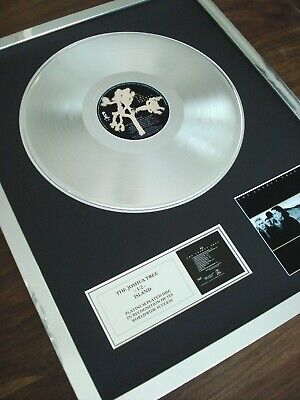 U2 The Joshua Tree Lp Platinum Plated Disc Record Award Album