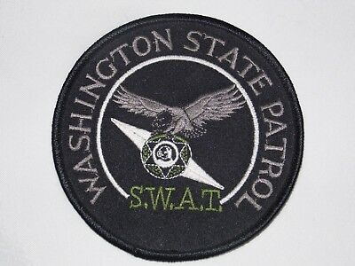 Vintage - Collectible WSP S.W.A.T. Patch 4.0""