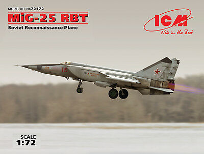 ICM 72172 MiG-25RBT in 1:72 (100% New Molds)